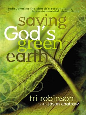 Click this cover for a(n) eBook sample of Saving God's Green Earth