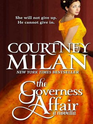 Click this cover for a(n) eBook sample of The Governess Affair