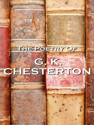 The Poetry of G. K. Chesterton