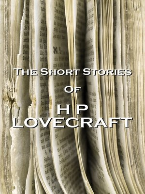 Click this cover for a(n) eBook sample of The Short Stories of HP Lovecraft, Volume 1