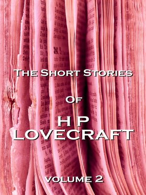 Cover of The Short Stories of HP Lovecraft, Volume 2