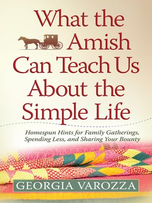 Click this cover for a(n) eBook sample of What the Amish Can Teach Us About the Simple Life.