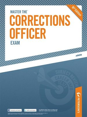 Cover of Master the Corrections Officer Exam