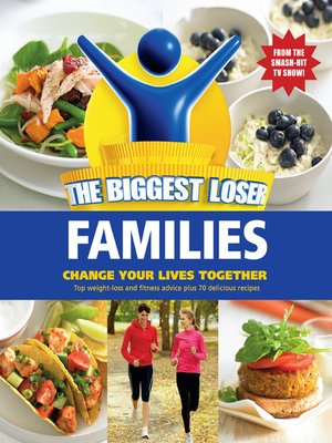 Click this cover for a(n) eBook sample of Biggest Loser Families