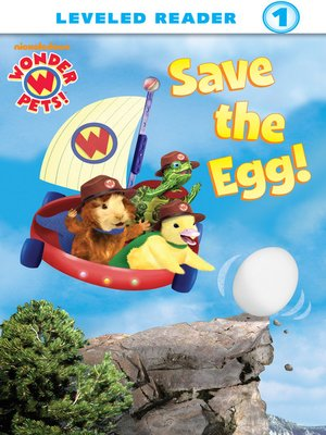 Click this cover for a(n) eBook sample of Save the Egg!