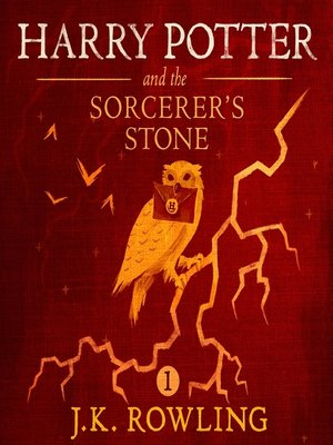 Click this cover for a(n) Audiobook sample of Harry Potter and the Sorcerer's Stone.