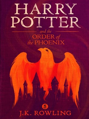 Click this cover for a(n) eBook sample of Harry Potter and the Order of the Phoenix.