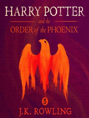 Click this cover for a(n) Audiobook sample of Harry Potter and the Order of the Phoenix