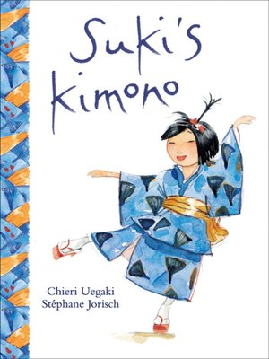 Click this cover for a(n) eBook sample of Suki's Kimono
