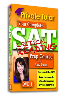 Private Tutor - Critical Reading DVD 1 - SAT Prep Course