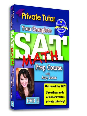 Private Tutor - Math DVD 5 - SAT Prep Course