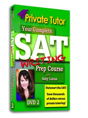 Private Tutor - Writing DVD 2 - SAT Prep Course