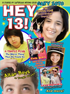 Click this cover for a(n) eBook sample of Hey 13!.