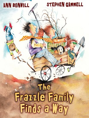 Click this cover for a(n) eBook sample of The Frazzle Family Finds a Way.