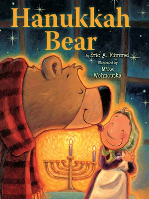 Click this cover for a(n) eBook sample of Hanukkah Bear.