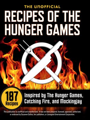 Click this cover for a(n) eBook sample of The Unofficial Recipes of The Hunger Games