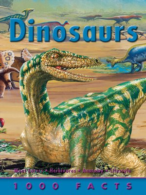 Click this cover for a(n) eBook sample of 1000 Facts Dinosaurs