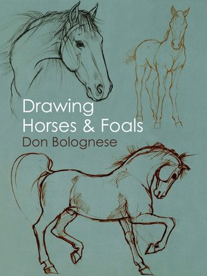 Cover of Drawing Horses and Foals