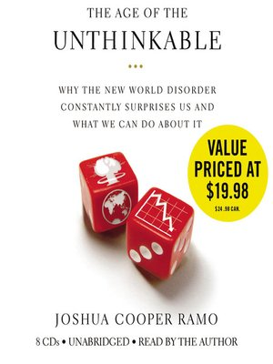 Cover of The Age of the Unthinkable