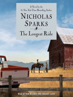 Click this cover for a(n) Audiobook sample of The Longest Ride.