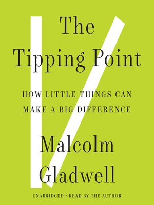 Cover of The Tipping Point