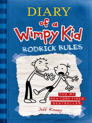 Click this cover for a(n) eBook sample of Rodrick Rules.