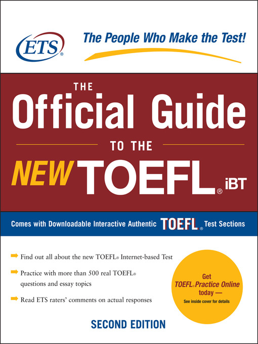 Cambridge Preparation Toefl Test Pdf