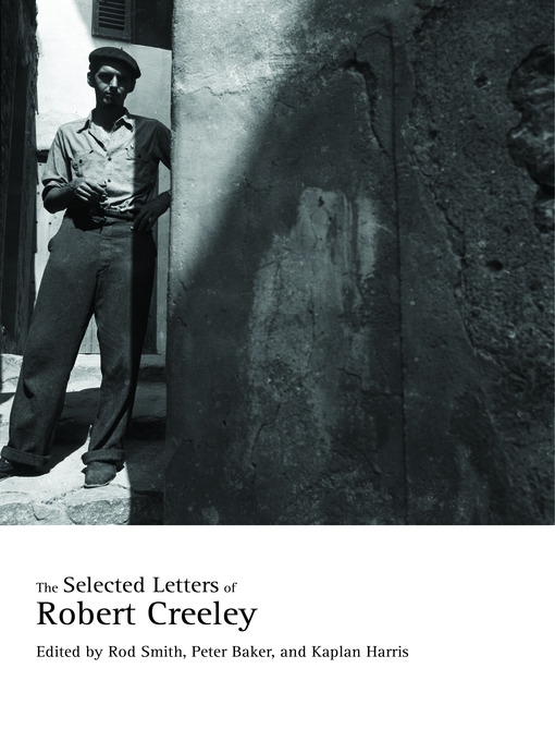 Picture of The Selected Letters of Robert Creeley