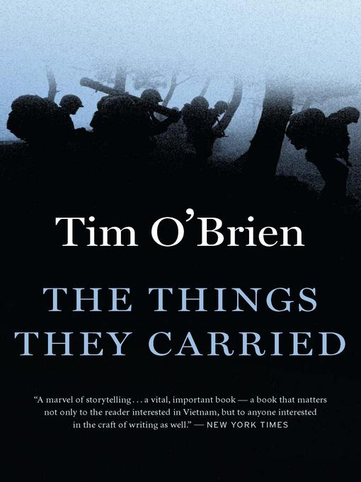 different illustrations of courage in the things they carried by tim obrien The things they carried study guide things they carried speaking of courage and notes critical analysis of the things they carried by tim o'brien.