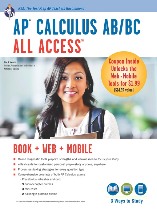 AP calculus AB/BC all access (eBook, 2014) [WorldCat org]