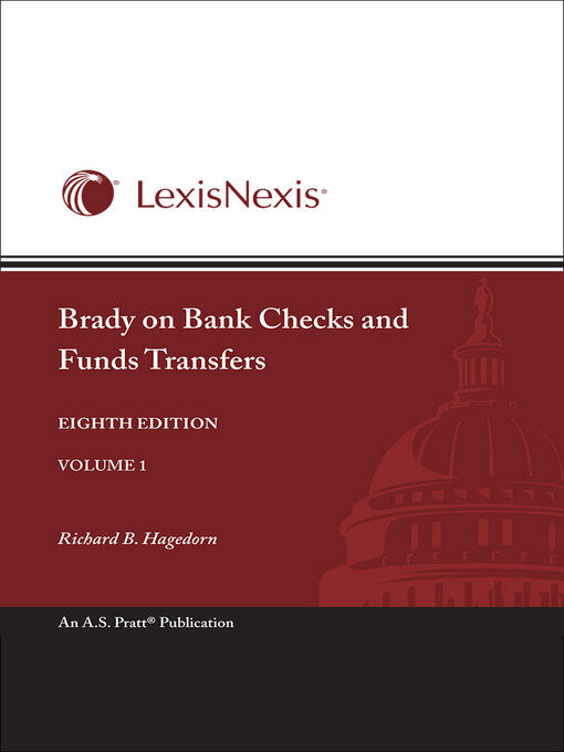 Digital collection browse brady on bank checks the law of bank checks fandeluxe Image collections