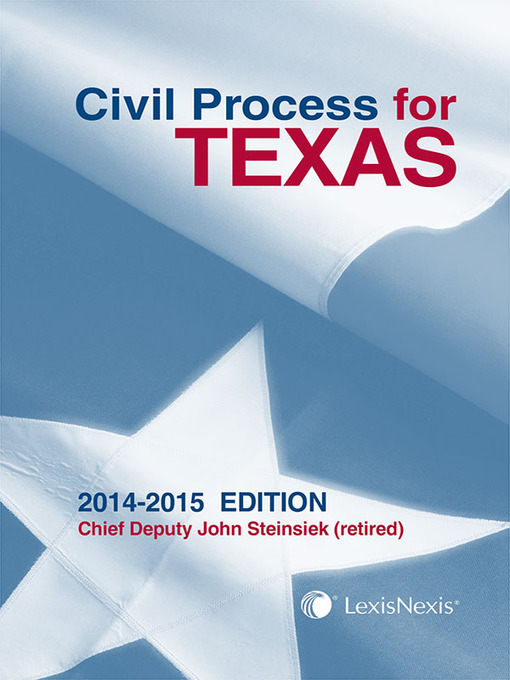 Digital collection browse civil process for texas fandeluxe Gallery