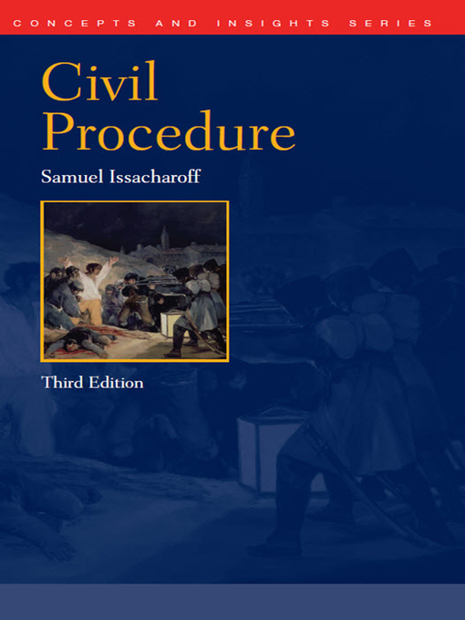 Civil Procedure Supplement, for Use with All Pleading and Procedure Casebooks (American Casebook Ser