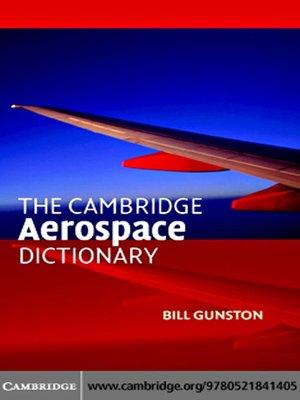 دانلود رایگان لغتنامه هوافضا (The Cambridge Aerospace Dictionary)