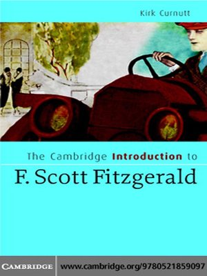 an introduction to the literature by fitzgerald Literature: a introduction to fiction, poetry, drama, and writing / edition 12 available in translated by edward fitzgerald n a book of verses underneath the.