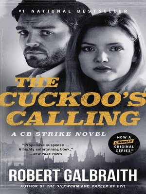 Cover image for The Cuckoo's Calling