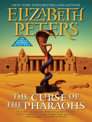 The Curse of the Pharaohs by Elizabeth Peters, Review: Caustic wit