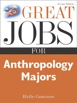 Anthropology types of college majors