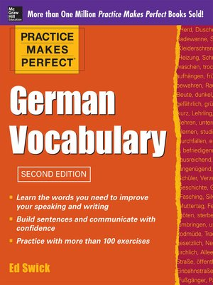 practice makes perfect german vocabulary practice makes perfect series pdf