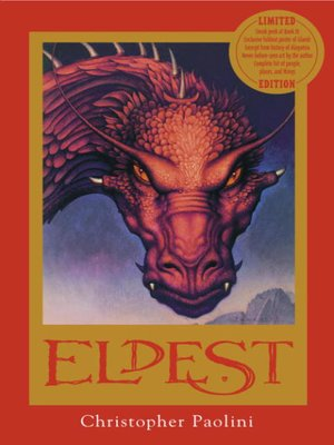 book review eldest by chris paolini Eragon christopher paolini - fantasy book review, eldest the inheritance cycle: book 2 76 darkness fallsdespair aboundsevil reigns eldest is the sequel to eragon and is the second book in christopher paolini's inheritance cycle.