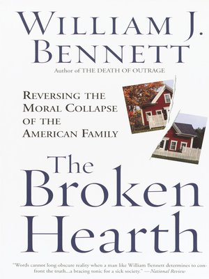 "a review of william j bennetts book the death of outrage In ""the death of outrage,"" bill bennett explains why each of the arguments made in defense of the death of outrage, william bennett conservative book club."