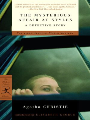 Cover image for The Mysterious Affair at Styles