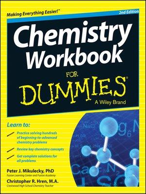 chemistry for dummies workbook pdf