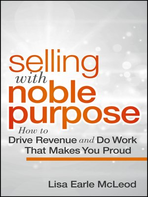selling with noble purpose pdf