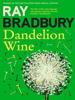 dandelion wine short story pdf