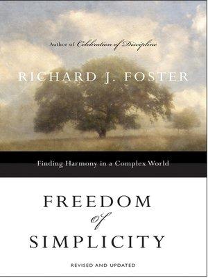 Richard j foster celebration of discipline