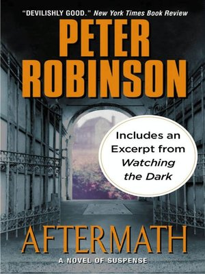 Peter Robinson Books In Order