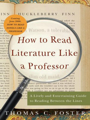 how to read literature like a professor shmoop