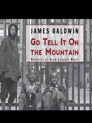 go tell it on the mountain pdf baldwin