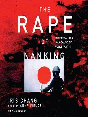 the rape of nanking iris chang epub